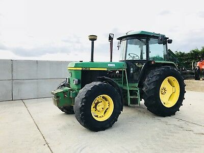 John Deere 3350, 40kph, Wide Step, Twin Assistor Rams, No Vat Fitted With Turbo