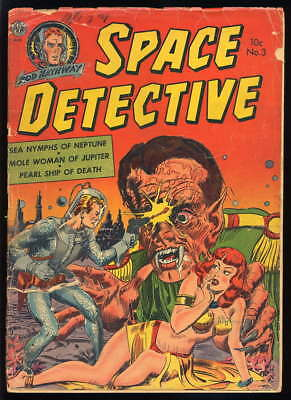 Space Detective 3 (Avon 1952) ...........low grade, story complete