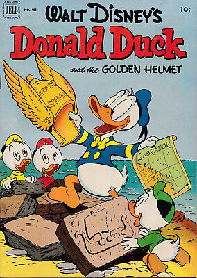 "DONALD DUCK Four Color #408 1952 VG-FINE ""The Golden Helmet"" ALL CARL BARKS!!"