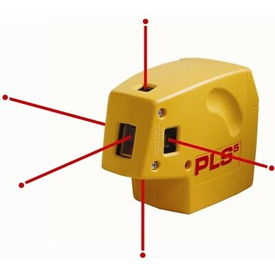 Pacific laser Systems PLS5-NEW Self-Leveling Laser Plumb Level and Square Kit