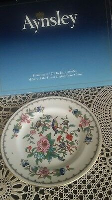 Aynsley Fine Bone China Plate with Original Box. Made In England