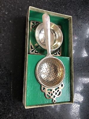 Antique Style Tea Strainer Inbox. Retro Classic Vintage