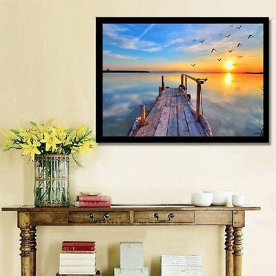 Sunset Diamond Embroidered Home Full of Diamonds Painting Home Decoration DY