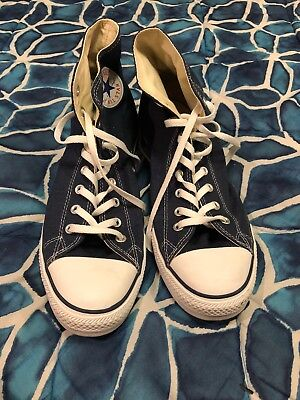 Converse All Stars Navy Size 13