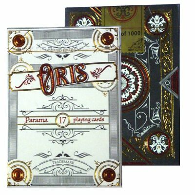 Oris Playing Cards Borderless Limited Edition Designed in Italy