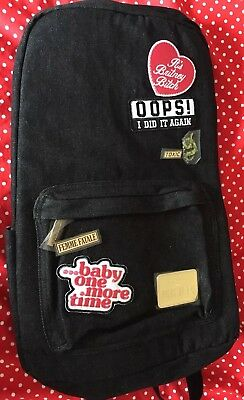 Britney Spears Backpack - Official Merchandise (Brand New, Not Used)
