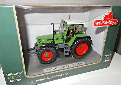 Fendt Favorit 615 LSA - Weise Toys 1007 - Traktor, Farm, Bauernhof, 1:32 - TOP