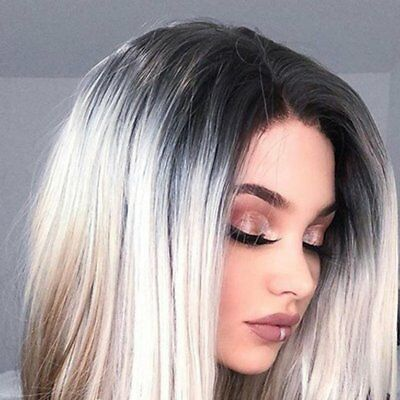 Natural Wave Synthetic Lace Front Wigs Heat Resistant Fiber Slim Face Wigs DY
