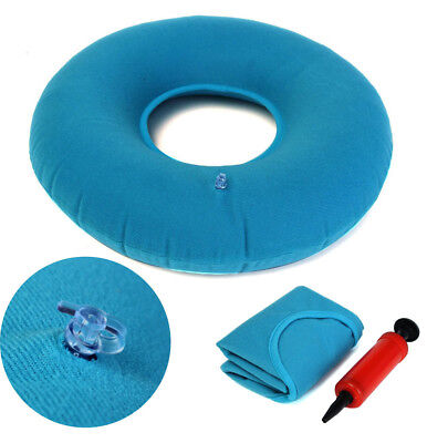 Inflatable PVC Rubber Ring Round Seat Cushion Medical Hemorrhoid Pillows Donut