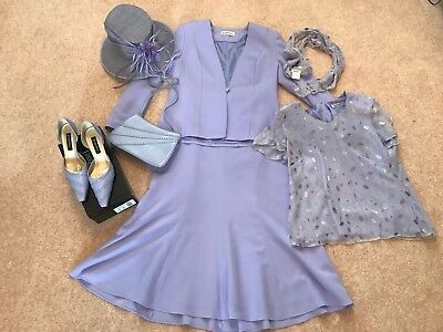 Jacques Vert Mother of the Bride Wedding outfit (complete) 12 & 14