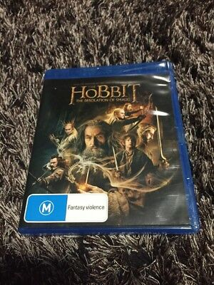 The Hobbit - The Desolation of Smaug (Blu-ray, 2014, 2-Disc Set)