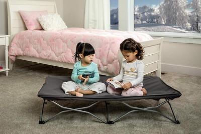Regalo My Cot Portable Travel Bed, Grey, Includes Fitted Sheet and Case