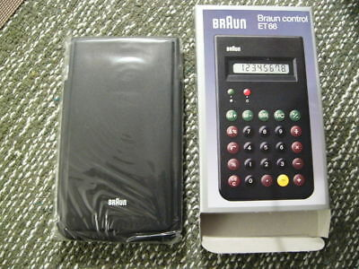 Braun ET66 Calculator Neu!