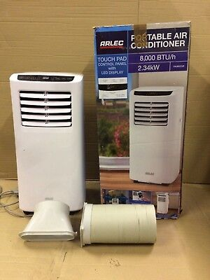 Arlec 8000 BTU Portable Air Conditioner Cooler Cooling Office Conditioning Fan