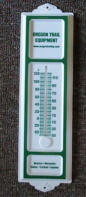 Way Cool JOHN DEERE Dealer THERMOMETER....Nebraska...MINT!