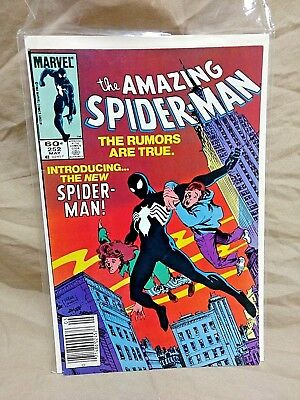 The Amazing Spider-Man Vol. 1 #252 1st Appearance of Black Symbiote Suit (VN)