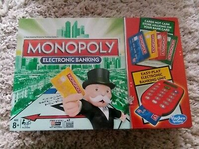 RARE Monopoly Electronic Banking Board Game 2013 Hasbro Version Brand New Sealed