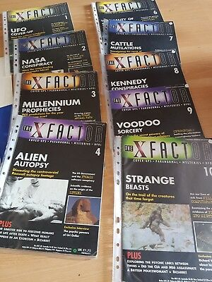 The X Factor Magazine 1997 Paranormal Supernatural Etc