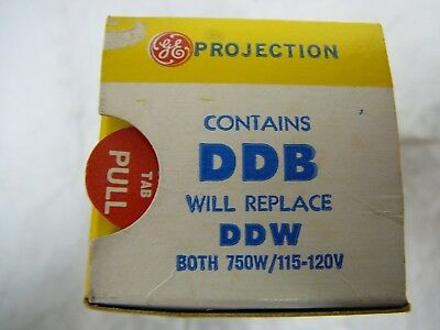 DDB Photo Projection LIGHT BULB Studio LAMP Projector NOS New Old Stock 750 Watt