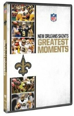 Nfl Greatest Moments: New Orleans Saints New Dvd