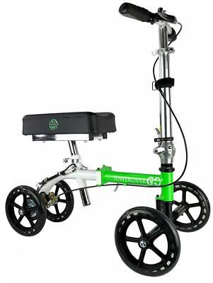 NEW KneeRover GO Knee Walker - The Most Compact & Portable Scooter Crutches...