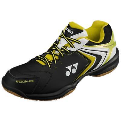 Yonex Power Cushion SHB 47 Mens Indoor Badminton Shoes - Black/Lime - UK 10 ONLY