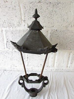 Very Large Vintage Style Lampost Tops Metal Street Light Victorian Old Design