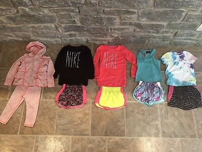 Lot Of Girls 💟💟💟 Athletic Clothing Nike Size 4t / 4 EXCELLENT CONDITION 💟💟