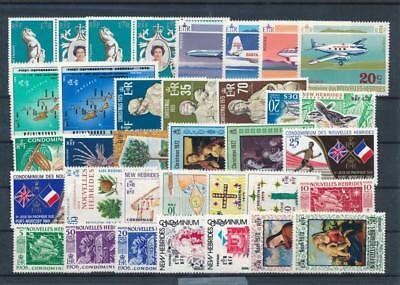 [G114992] New Hebrides good Lot very fine MNH Stamps