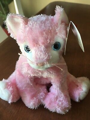 Ty Beanie Baby Carnation - New With Tag -Cat Pink 2002 Retired