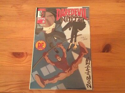 Daredevil : Ninja #1 Signed by Rob Haynes with COA. DF Sealed