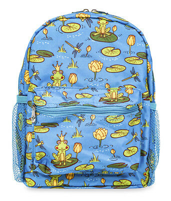 Jenzys Girls Frog Mini Toddler Purse Backpack Bag For Preschool or Kindergarten