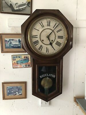 Antique Station Wall Clock
