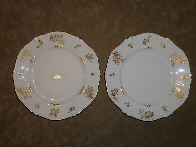Antique Burley and Company Chicago Haviland Limoges Saint Cloud Plates 1892