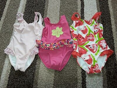 15Gg Baby Girls 9-12 Months Clothing Bundle Of Swimming Suits