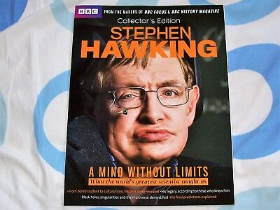 Stephen Hawking - A Mind Without Limits - Bbc History Mag - Collector's Edition