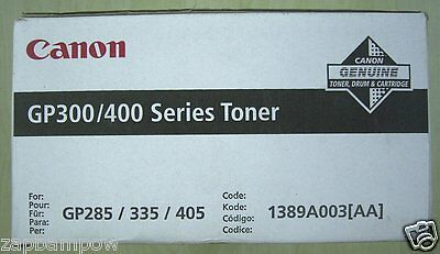 Canon Gp300 Gp400 Series Toner Single Pack 1389A003 {Aa} Genuine
