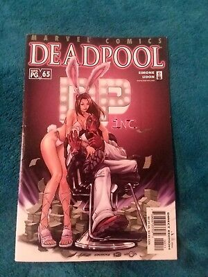 Deadpool Vol 1 #65 Low Print Playboy 1St App Black Swan Outlaw Ratbag 1St Print