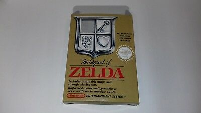 The Legend of Zelda - PAL  - Nintendo  - NES - Only Box