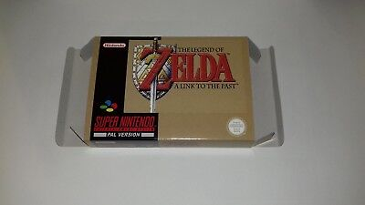 The Legend of Zelda A Link to the Past - UK - PAL  - Super Nintendo - Only Box