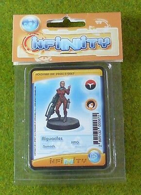 NOMADS ALGUACILES HMG NEW In Blister INFINITY THE GAME Corvus Belli