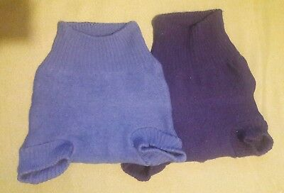2x Disana Wool Covers Lanolised And Ready To Go - USED