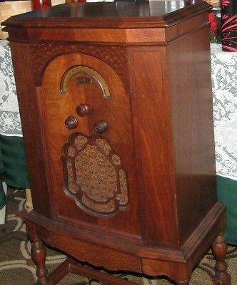 Antique radio 1927 Mohawk, Lyric