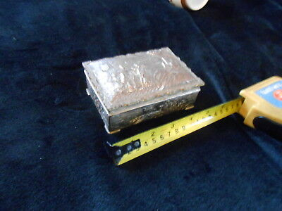 Interesting 20th Century Japanese Silver Plated Metal Box