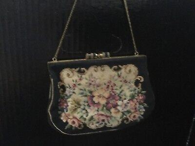 Antique/Vintage Petit Point/needlepoint Purse