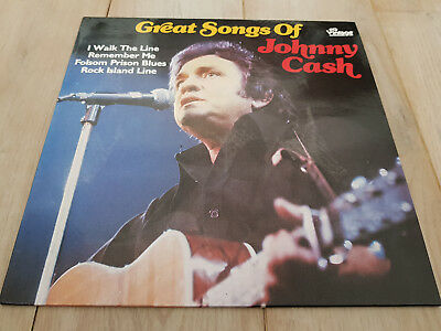 Johnny Cash ‎– Great Songs of Johnny Cash - Vintage F 50004 - gewaschen, VG+