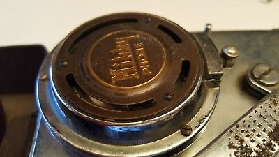 RARE Vintage 1930s - 1940s MIKKY PHONE Portable Phonograph 78 rpm Record Player