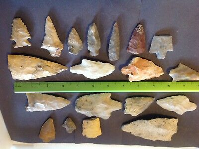 Indian arrowhead, performs, large lot