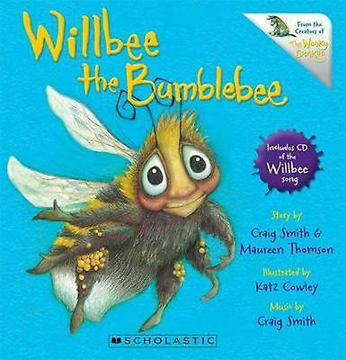 Willbee the Bumblebee by Craig Smith Board Books Book Free Shipping!