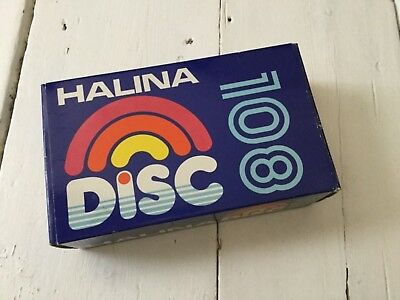 Vintage Retro Photography Halina 108 Disc Camera Compact Boxed - Great Condition